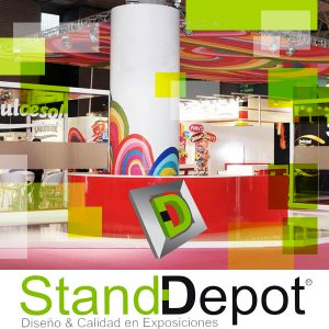 Colores, Diseño de Stands