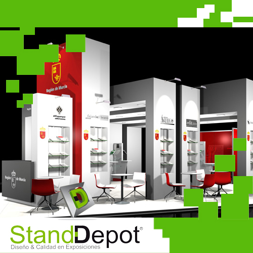 Montaje Institucional – Stand Depot