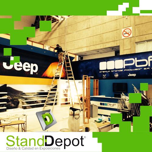 Cómo idear un espacio Stand Depot
