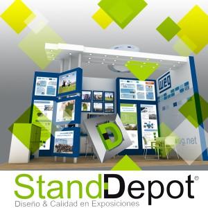 Estrategias de Marketing, Produccion de Stands