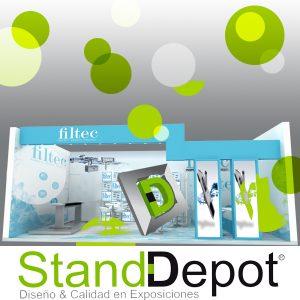 Estrategia visual, Diseño de Stands