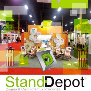 Funciones del Showroom, Stands para Ferias
