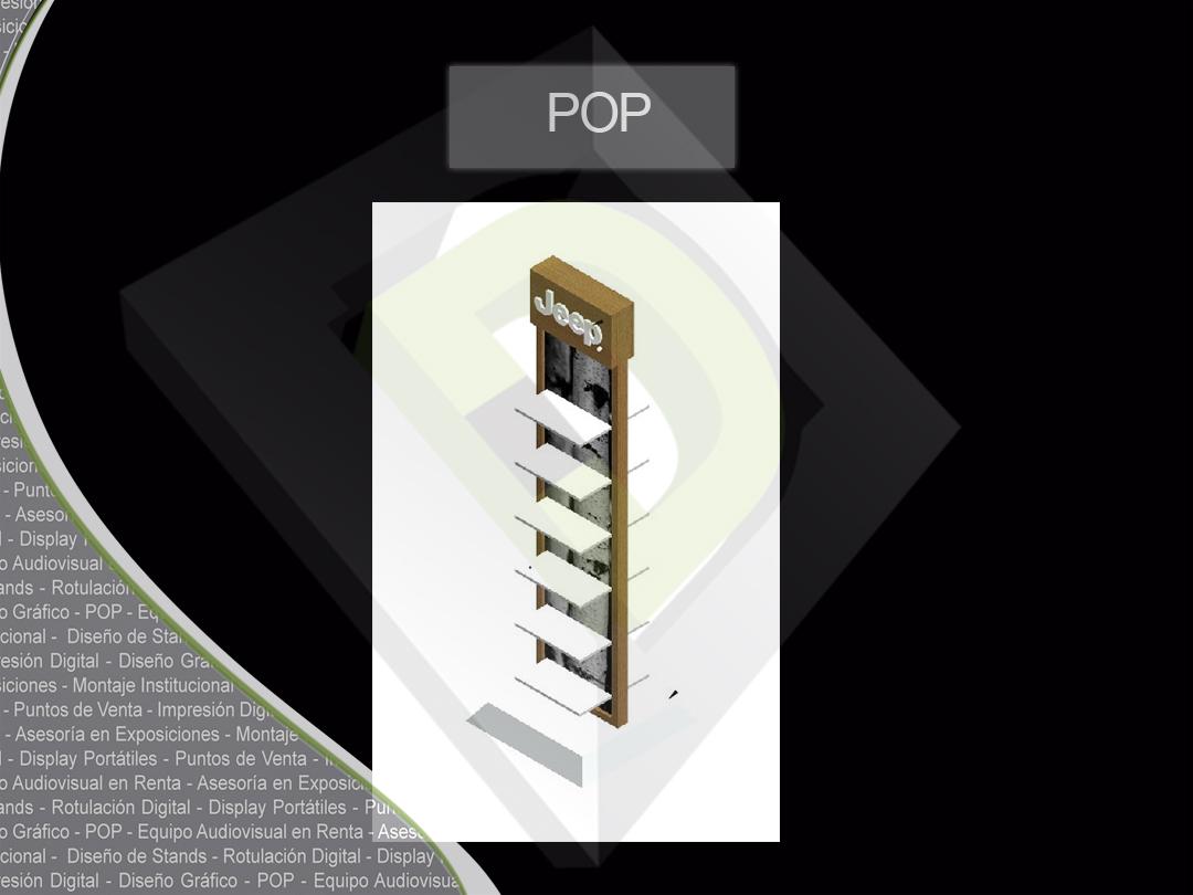 Exhibidores POP