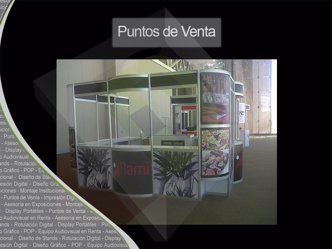 Exhibidores en Guadalajara